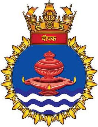 INS Deepak (A50) - INS Deepak crest