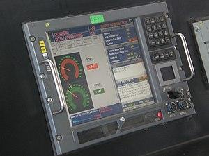 Control panel (engineering) - Image: INS Shivalik IVCS