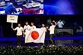 IPhO-2019 07-07 opening team Japan.jpg