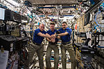 ISS-44 crew members commemorated the 40th anniversary of the joint Apollo-Soyuz mission.jpg