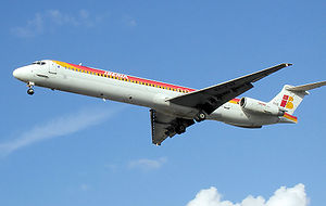 McDonnell Douglas MD-80 - An Iberia MD-88 in 2002