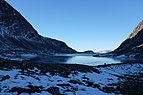 Ice cold morning at Langvatnet lake in Dovrefjell National Park, Norway.jpg