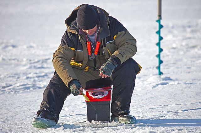 Ice fishing, Švédsko