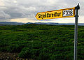 Iceland - Sign - Golden Circle - Skjaldbreidur - F338 - Road Trip (4889922765).jpg