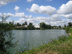 Church of Transfiguration of Jesus on the river Ichen'ka