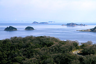 Ieshima, Hyōgo - Image: Ieshima Islands view from Ieshima Himeji Hyogo pref Japan 01s