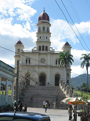 "Front side of the church ""Virgen de la Ca..."