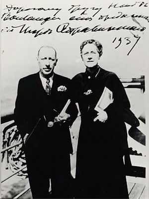 Nadia Boulanger - Boulanger with Igor Stravinsky