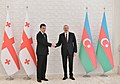 Ilham Aliyev and Prime Minister of Georgia Giorgi Gaharia held a one-on-one meeting 02.jpg