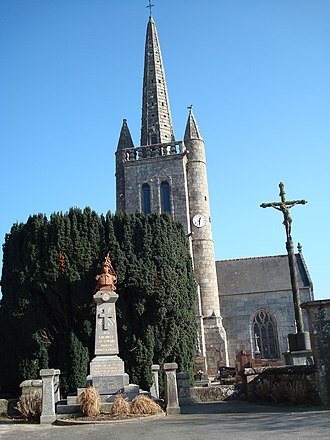 Cavan, Côtes-d'Armor - The church of Cavan