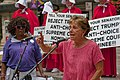 Illinois Congresswoman Jan Schakowsky Stop Brett Kavanaugh Rally Downtown Chicago Illinois 8-26-18 3523 (43406993275).jpg