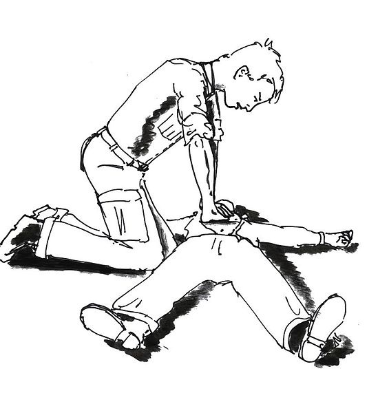 Fil:Illustration of cardiopulmonary resuscitation.jpg