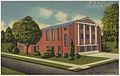 "Immanuel Baptist Church, ""The Friendly Church"", Cor. Tuscan at Cherry, Hattiesburg, Miss. (8205116165).jpg"