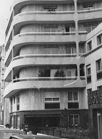 Boulevard Richard-Lenoir - Image: Immeuble 53 55 Boulevard Richard Lenoir, Paris 1981 002