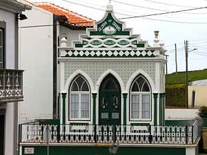 Altares - The Império of the Holy Spirit, a modern império used in religious celebrations annually
