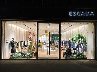 Escada - ESCADA Store front