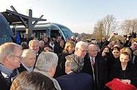 Inauguration de la branche vers Vieux-Condé de la ligne B du tramway de Valenciennes le 13 décembre 2013 (088).JPG