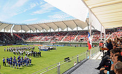 Inauguration of Nelson Oyarzun Municipal Stadium.jpg