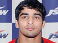 Indian Navy wrestler Sandeep Tomar.png