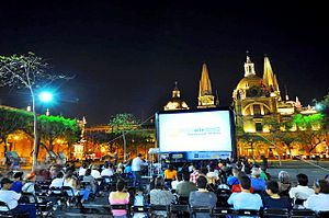 Outdoor cinema - Outdoor movie nights at Guadalajara International Film Festival