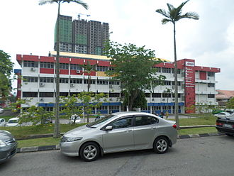 Infrastructure University Kuala Lumpur - Outer view of the campus