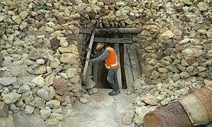 Cerro Rico - Mine entrance Cerro Rico