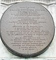 Inscription on plaque to William Pitt Byrne on his memorial in Bryanston Square - geograph.org.uk - 1046263.jpg