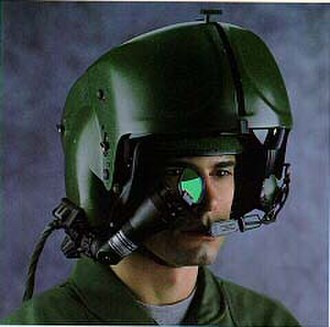 Helmet-mounted display - The Integrated Helmet and Display Sight System (IHADSS)