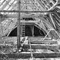 Interieur kap, overzicht naar het westen, tijdens restauratiewerkzaamheden - Bornwird - 20329561 - RCE.jpg