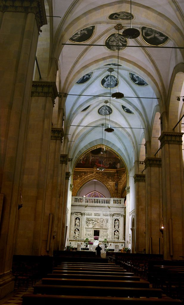 File interno basilica della santa casa loreto jpg wikipedia for Interno della casa