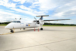 Bombardier Dash 8Q-300 der InterSky