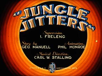 Jungle Jitters - Title card