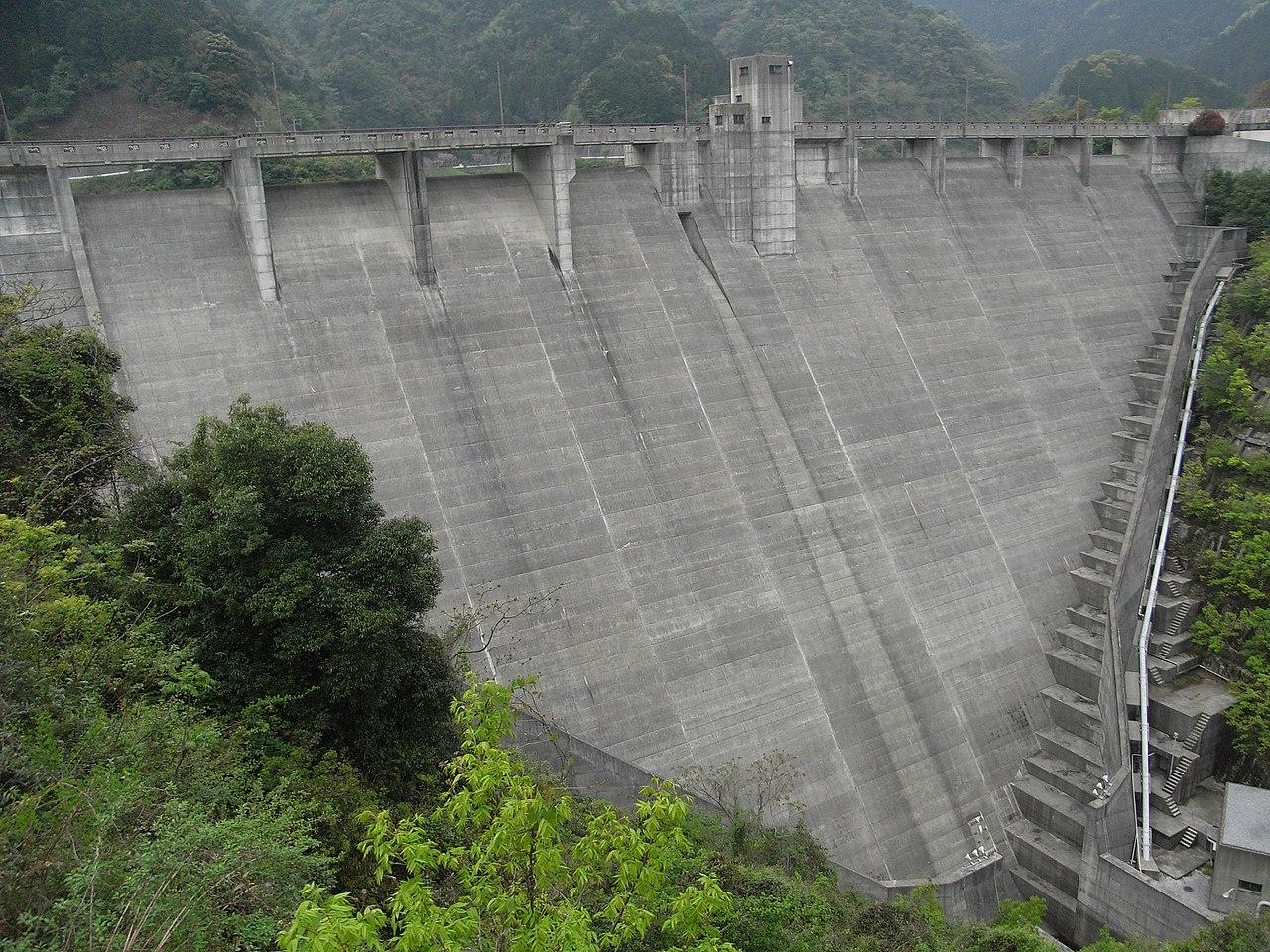 La presa de Inunaki