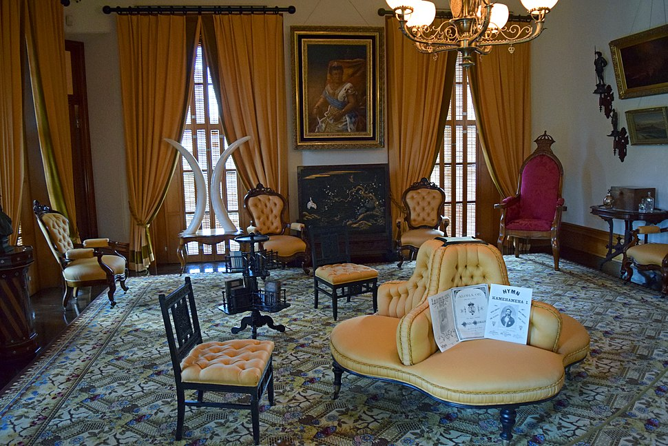 Iolani Palace Music Room