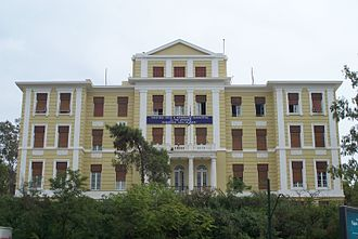 Nea Smyrni - The Iosifogleion building, used as a child shelter since the 1930s, at Nea Smyrni