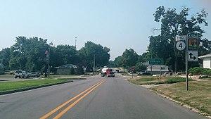 Iowa Highway 4 - Iowa 4 terminus in Panora