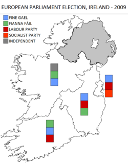 Irish EU parliament election2009.png