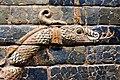 Ishtar Gate of Babylon, 6th cent. BCE, Ny Carlsberg Glyptotek, Copenhagen (3) (36419762285).jpg