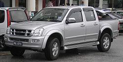 Isuzu D-Max (first generation) (front), Serdang.jpg