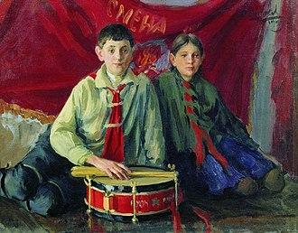 Ivan Kulikov - Image: Ivan Kulikov Pioneers 1929