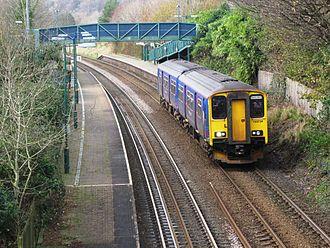 Ivybridge railway station - Image: Ivybridge 150234