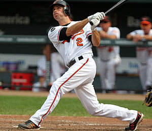 J. J. Hardy - J.J. Hardy batting for the Orioles
