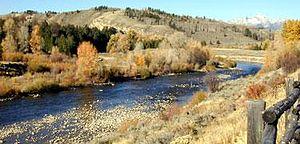 John D. Rockefeller Jr. Memorial Parkway - The Snake River in Wyoming