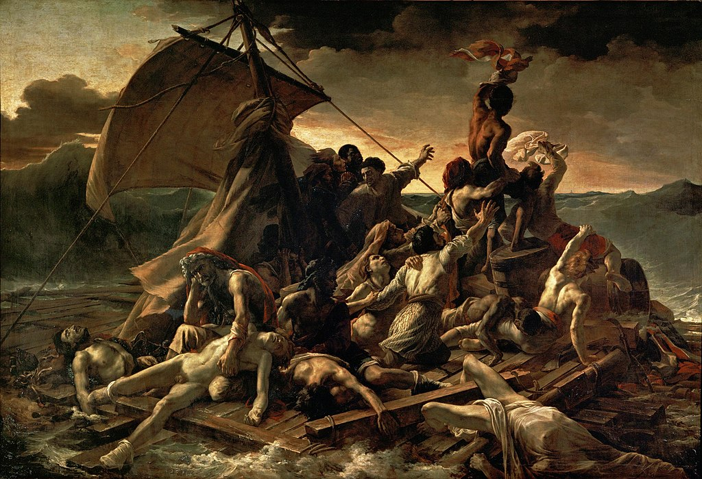 Raft of the Medusa image
