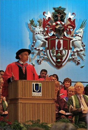 Jonathan Edwards (triple jumper) - Jonathan Edwards at the University of Ulster Winter Graduation Ceremony, Tuesday, 19 December 2006