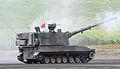 JGSDF type99 SPH higashi fuji Firing Space.JPG