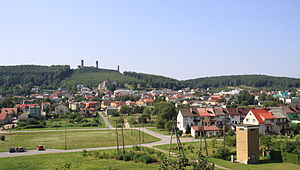 Chęciny - View at Chęciny