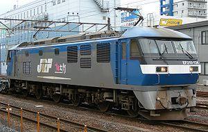 JR Freight Class EF210 - JR Freight EF210 electric locomotive EF210-134 in June 2009