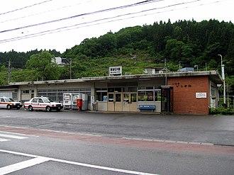 Iwaki-Ishikawa Station - Iwaki-Ishikawa Station in May 2008