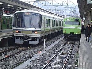 Kyōto Station - Nara Line tracks